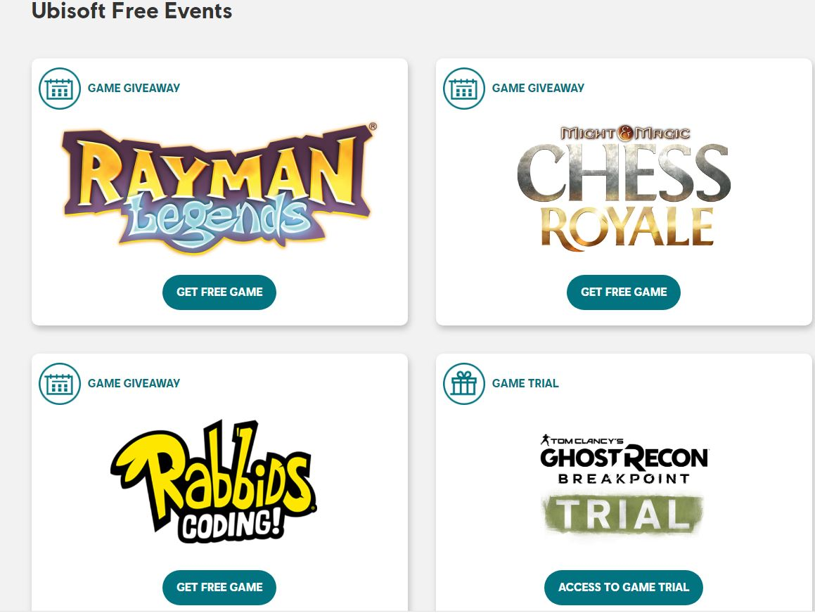 SARS-CoV-2 Gaming: Ubisoft Is Giving Away Rayman Legends, Chess Royale and Rabbids Coding