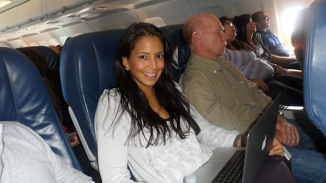 Caching In On The Food Babe - Her Air Travel Tips