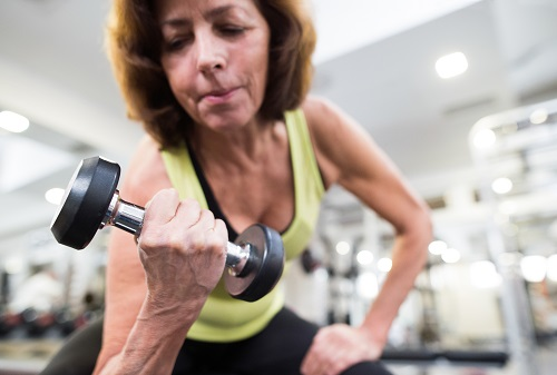 Strength Training Is Safe And Benefits Older Women With Low Bone Mass
