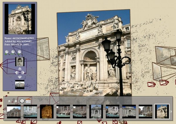 Photo Software Creates 3-D World