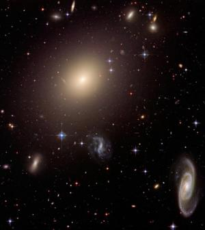 Astronomer Finds Closest Gravitational Lensing Galaxy