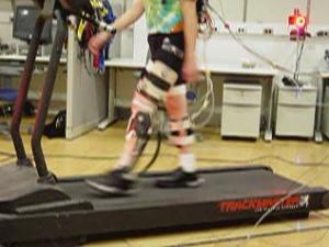 Robotic Exoskeleton Replaces Muscle Work