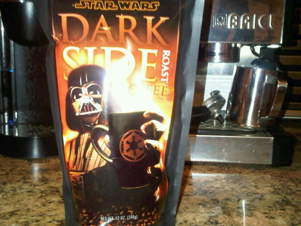 Dark Side Roast Blend Star Wars Coffee